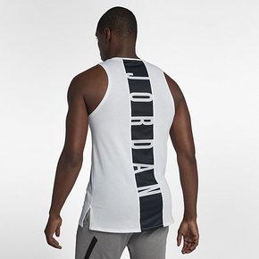 NIKE耐克AIR JORDAN夏新款AJ男子篮球运动背心透气无袖T恤892072-010