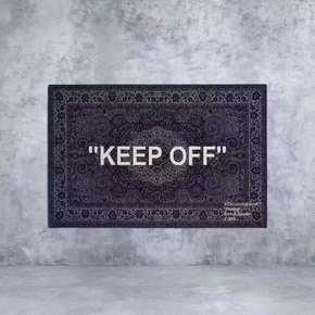Off-White x IKEA Virgil Keep Off 宜家 腰果花 地毯