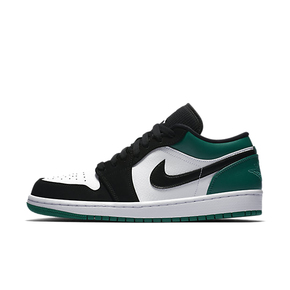 Air Jordan 1 Low AJ1 黑绿脚趾 低帮篮球鞋 553558-113