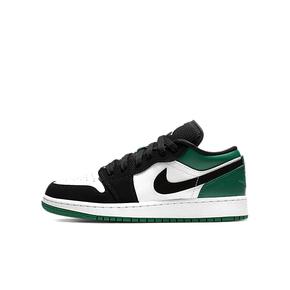Air Jordan 1 Low AJ1 GS 黑绿脚趾 低帮篮球鞋 553560-113