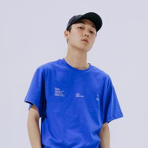 FLAM 嘻哈潮牌国潮 FYP 情侣印花半袖宽松短袖T恤男
