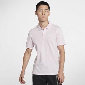 NIKE 2019新款男子宽松翻领舒适透气POLO衫短袖T恤 909747-663
