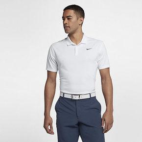 Nike 2019夏新款运动刺绣POLO衫速干翻领T恤891858-100