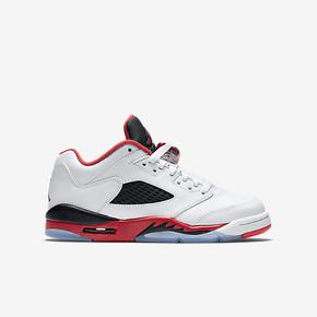 "断码特惠!Air Jordan 5 Low GS ""Fire Red"" 314338-101"
