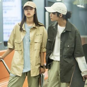 OITC 19SS 日文刺绣工装衬衫