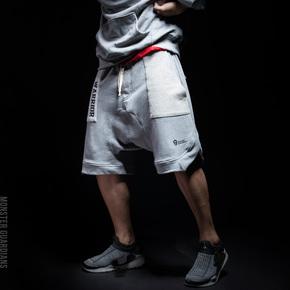限时满赠!Monster Guardians Warrior系列 男子潮流运动短裤 AWM04