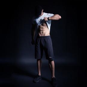 限时满赠!Monster Guardians Ultimate Tech终极科技系列男子梭织薄款运动短裤 AZM04