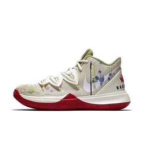 Nike Kyrie 5 x Bandulu 欧文5 涂鸦 奶油 CK5837-100