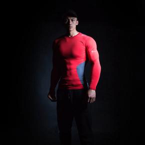 Monster Guardians MSGD终极科技系列运动健身长袖压缩衣紧身 终极科技系列 (21)251630 A08006