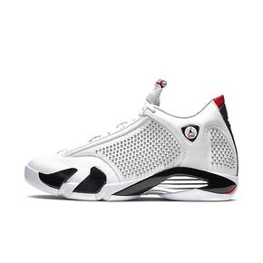 Supreme x Air Jordan 14 AJ14联名 白红 篮球鞋 BV7630-106(2019.6.19日发售)