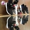 总裁 Adidas Originals EQT Boost Support 93/17 黑白粉 BB1234