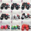 Nike BENASSI JDI 男女耐克拖鞋 忍者双绑带黑色大logo字母拖鞋