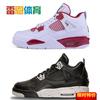 雷恩Air Jordan 4 Alternate 89 AJ4 乔4 GS白红篮球鞋408452-106