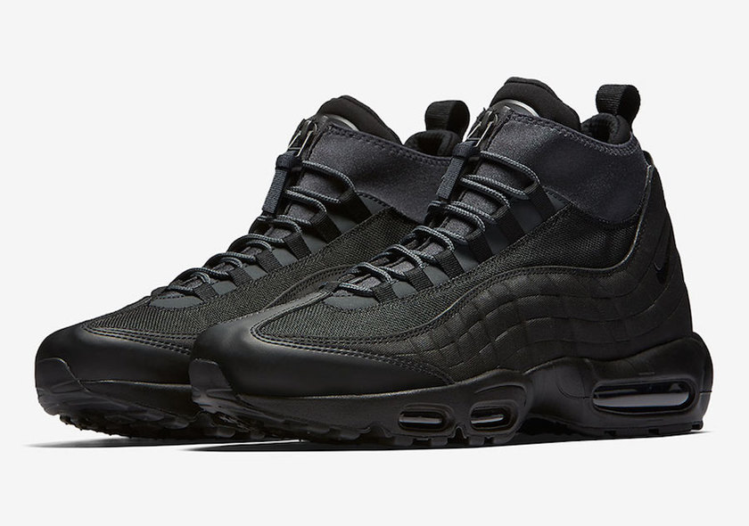nike air max 95 trainers 黑