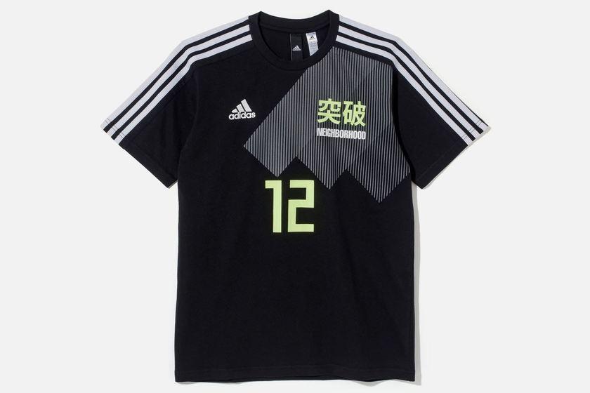 adidas 同样为各品牌打造球衣,球鞋及运动外套三款单品.图片