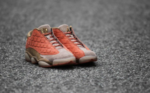 球鞋開箱60秒——AJ13 CLOT