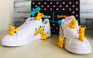 球鞋开箱60秒——adidas 皮卡丘联名