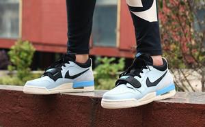 球鞋開箱60秒——Jordan 312 淺藍