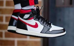 球鞋開箱60秒——AJ1 紅鉤黑腳趾