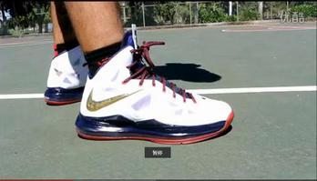 广告:Nike LeBron X (10) Performance Review