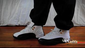 """Air Jordan Retro 12 """"Taxi """" 上脚预览"""