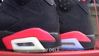 Air Jordan 6黑红外线2014版VS2010版VS2000版