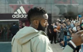 詹姆斯-哈登首部 adidas 广告