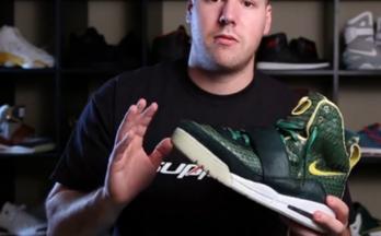 Nike Air Yeezy1 Oregon PE版本