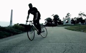 最刺激的单车运动 死飞竞速刷街
