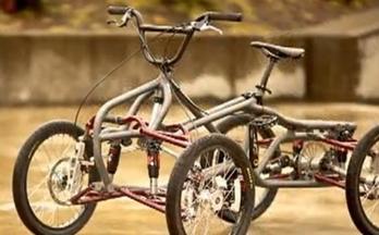 四轮自行车的设计制作和测试