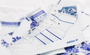 球鞋開箱60秒——adidas 青花瓷