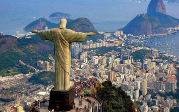 里约热内卢自行车道垮塌 致两人丧生