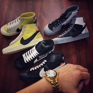 OFF-WHITE x Nike Blazer 将在本月亮相?