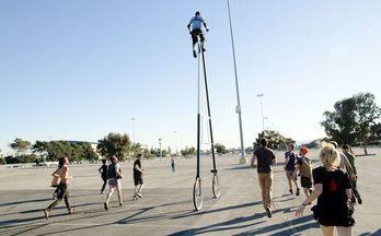 摄影师Richie Trimble打造全球最高自行车